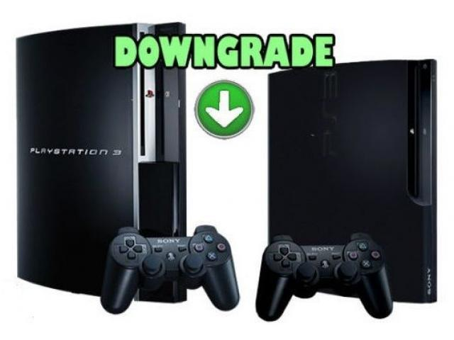 Downgrade jailbreak servis za sve ps3 konzole