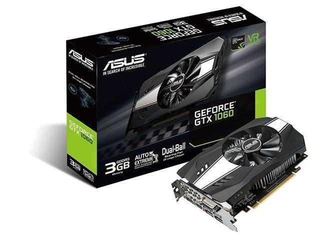 ASUS ph gtx 1060 3GB GDDR5