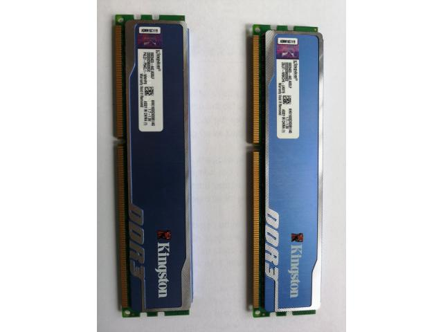 Kingston DDR3 HyperX blu 1333mhz CL9 2x4gb KIT
