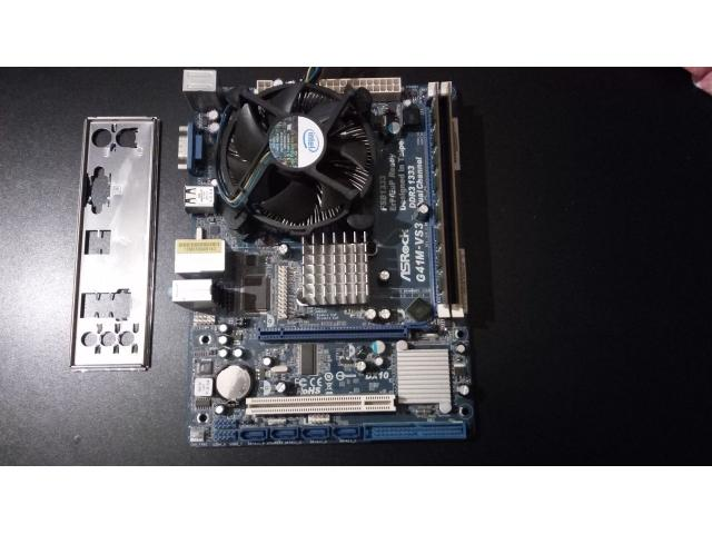 ASRock G41M-VS3 + Q8400 + 4 GB DDR 3