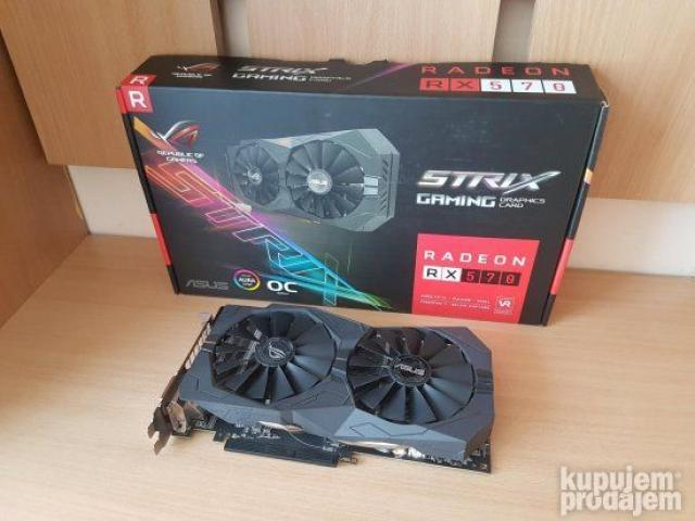 Asus RX570 Strix - 4GB